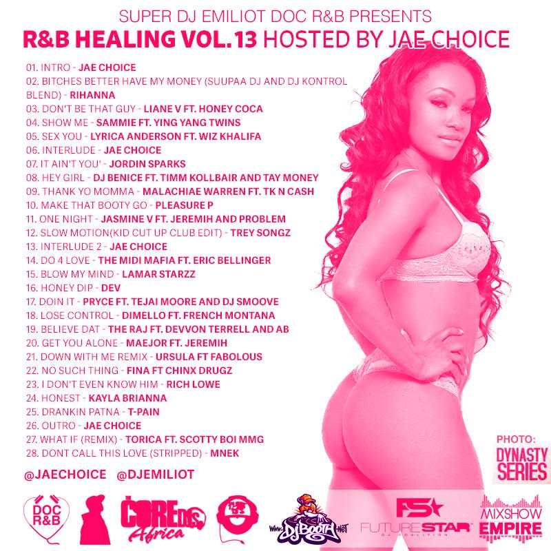 RNB Healing Vol.13 Back Cover