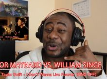 Conor Maynard vs. William Singe - I Don't Wanna Live Forever (SING OFF) Reaction #ReactionDude 4